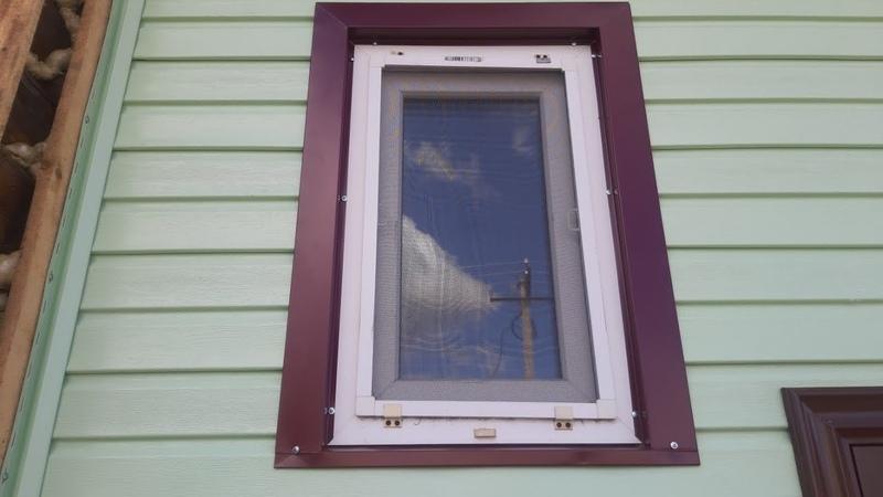 Обналичивание окна своими руками листогибом из листа железа, ошибки
