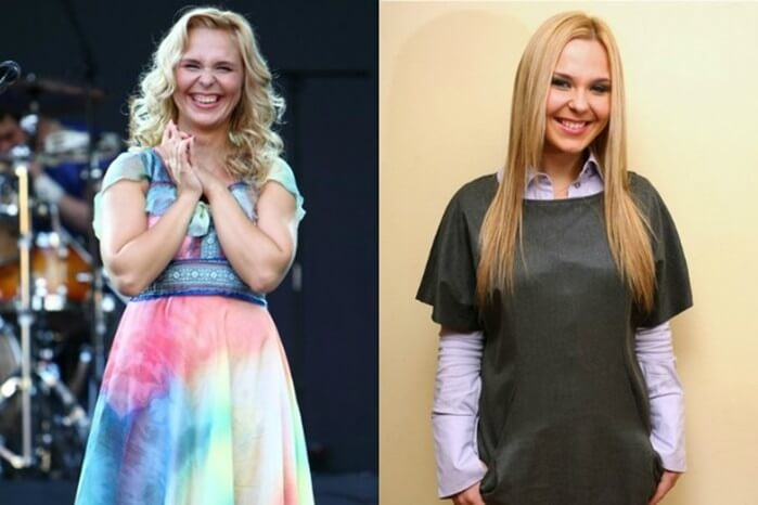 5 Российских знаменитостей, которые очень сильно похудели и стали красавицами