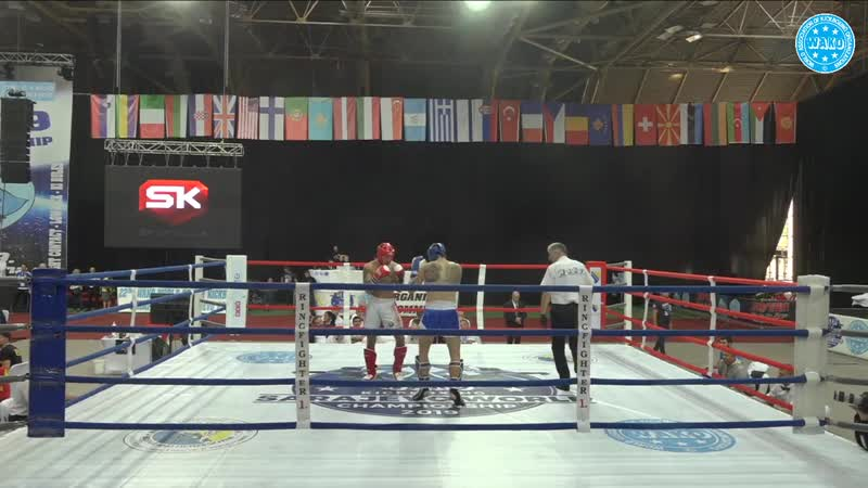 TUINOV VLADISLAV vs SPADARENKA MAKS WAKO World Championships 2019