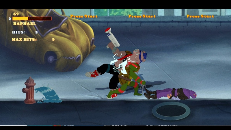 TMNT Arcade Animated FAN GAME Playthrough part 2 Here Comes BEBOP OPENBOR