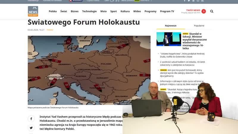 Dr Ewa Kurek Sprawa sądowa za 40 groszy Polska fałszuję historię Yad Vashem przeprasza