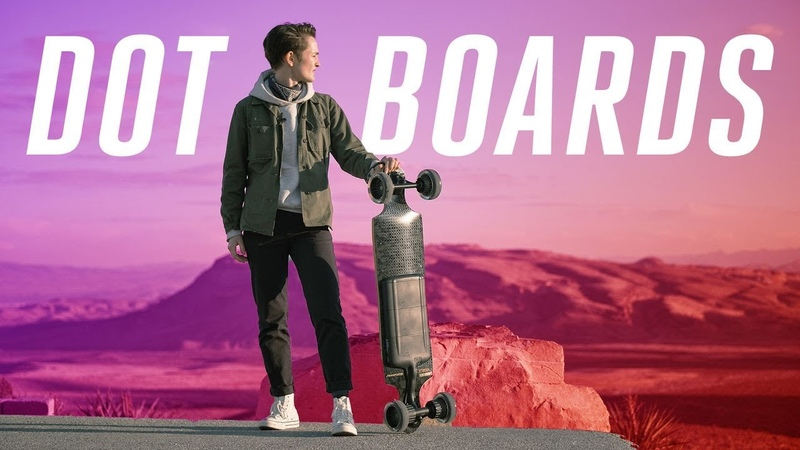 This new electric skateboard has one big flaw