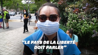 """Ces réfugiés ouïghours dénoncent le """"silence"""" de la France"""
