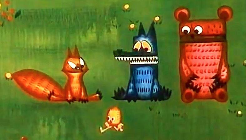 Советские мультфильмы для детей Веселый Цыпленок 1973
