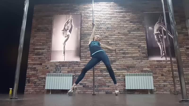 Наталья Перунова pole exot