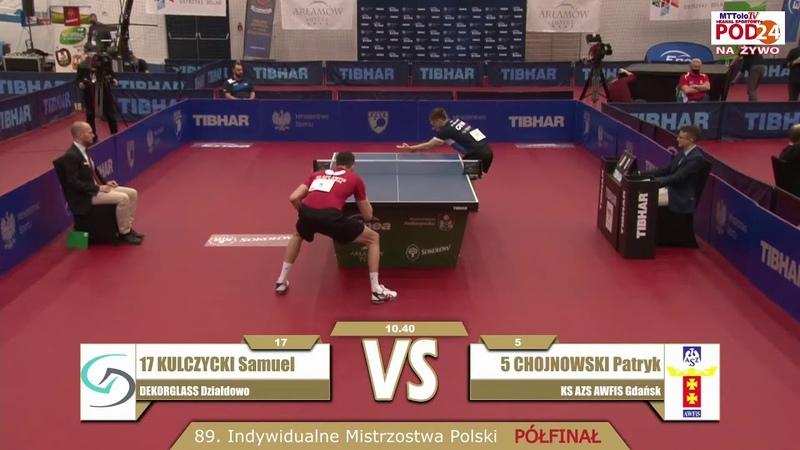 Samuel Kulczycki vs Patryk Chojnowski Semifinal 2021 Polish National Championship