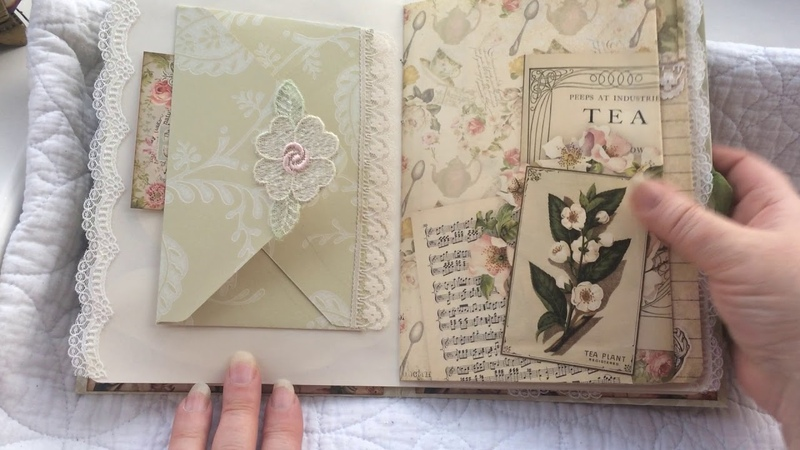 DT JOURNAL FOR CALICO COLLAGE TEA SOIREE