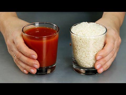 Рис на ужин ПО НОВОМУ Нужна лишь сковорода и минимум продуктов Вкуснейший рис с томатной пастой
