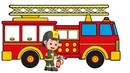 Draw And Color Fire Truck | Vẽ Và Tô Màu Xe Cứu Hỏa | Videos for kids on CC Channel