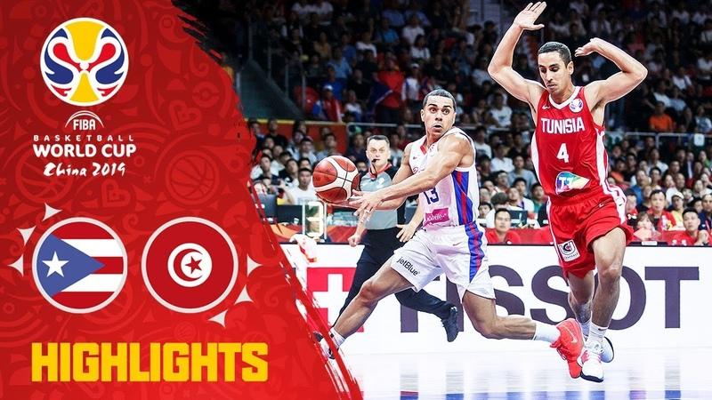 Puerto Rico v Tunisia - Highlights - FIBA Basketball World Cup 2019