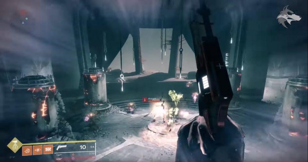 """Destiny 2 локация """"круг костей"""""""