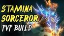 Stamina Sorcerer PVP Build - REGENERATOR - ESO Scalebreaker