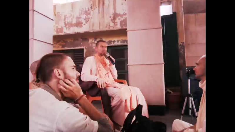Катха на Радха Кунде с Ананда Вардхана Свами