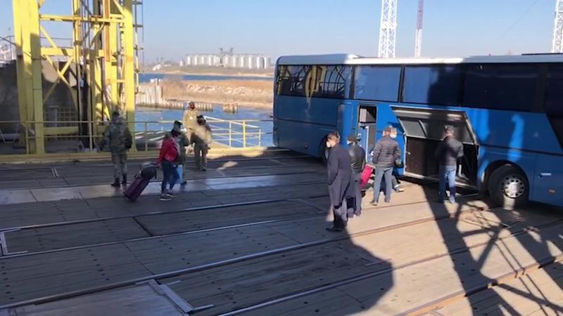 З Туреччини до України прибув пором з 35 українцями на борту