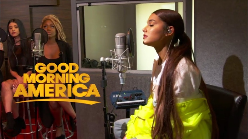 Ariana Grande God is a Woman Live Acoustic at Good Morning America 2018 HD