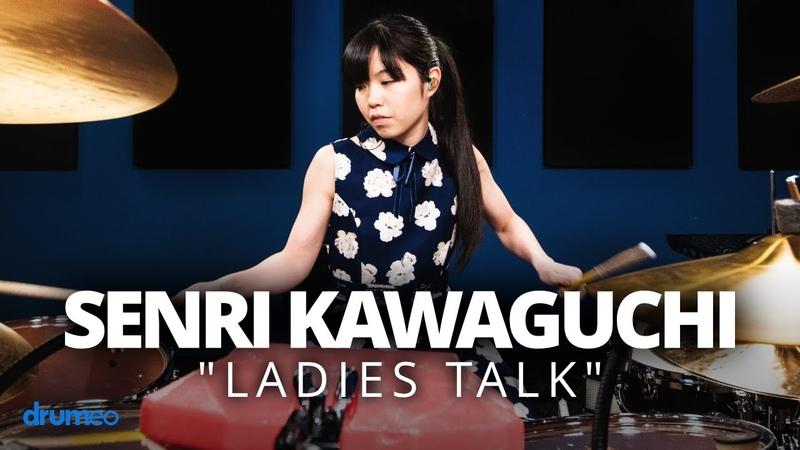 """Senri Kawaguchi Ladies Talk"""" Drum Performance"""
