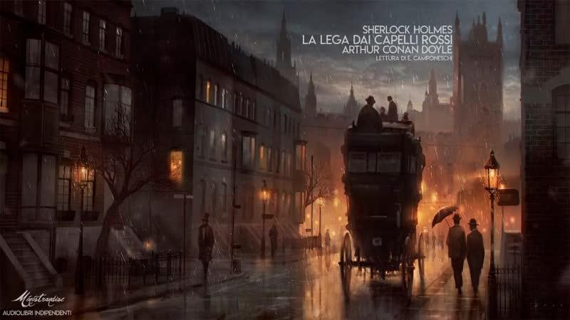 Sherlock Holmes- La Lega dai Capelli Rossi - A.C. Doyle