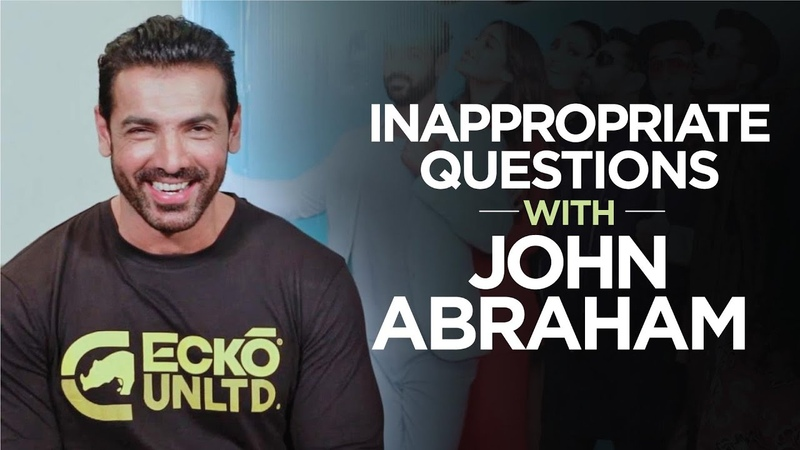 Inappropriate Questions with John Abraham Getting Chatty with Katty John Abraham Interview