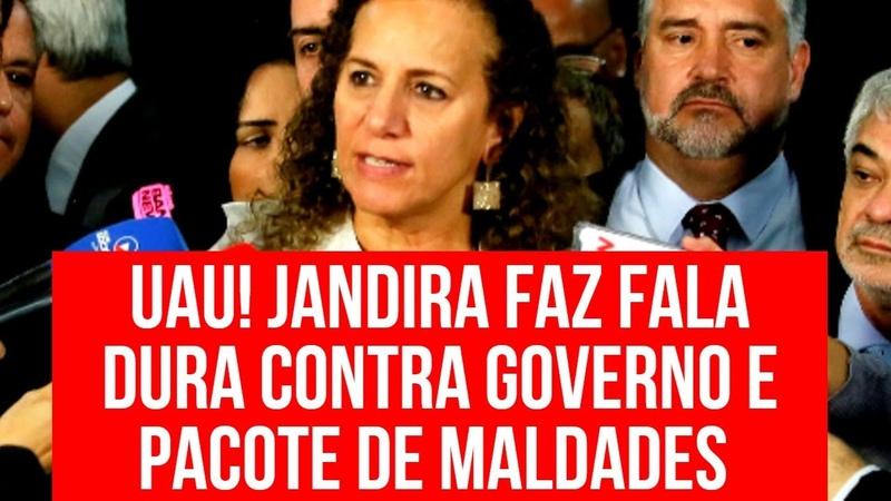 DISCURSO DE JANDIRA CONTRA PACOTE DE MALDADES E AI-5 ARRASA GOVERNO!