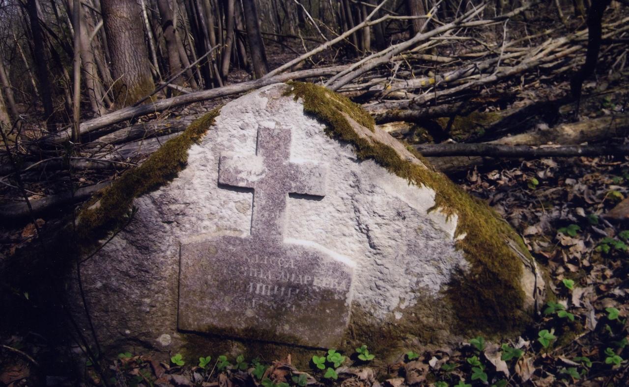 Удивительный памятник прошлого обнаружил местный житель в лесах Кимрского района