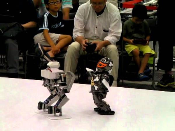 Robot Pro Wrestling Dekinnoka 13 Unko King vs Saaga