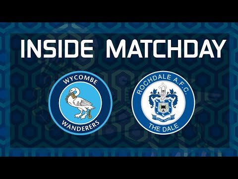 Inside Matchday Wycombe 2 1 Rochdale
