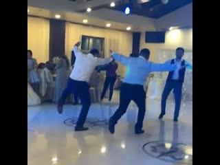 Танец орла на армянской свадьбе