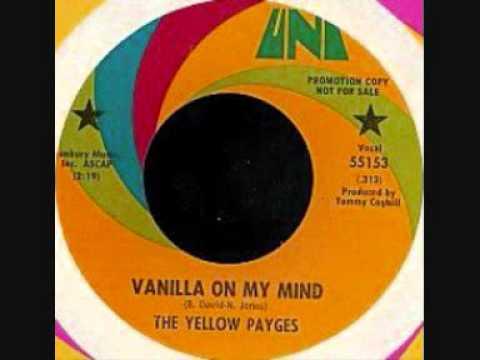 THE YELLOW PAYGES ~ VANILLA ON MY MIND