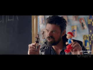 Amazons the boys billy butcher tells kids about superheroes official teaser