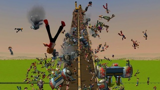 RollerCoaster Tycoon 3 Crashes & Deaths 3