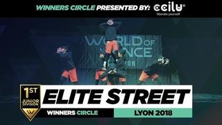 Elite Street I 1st Place Junior Division I Winners Circle I World of Dance Lyon 2018 I #WODFR18