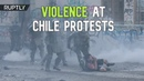 Violence escalates in Chile's mass protests, Santiago. 15 нояб. 2019 г.