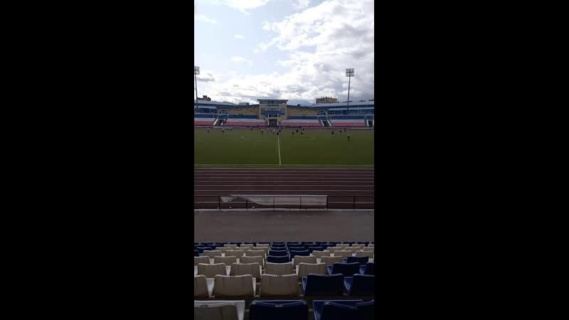 25 08 2019 Чемпионат РМЭ по футболу Высшая лига РМТ Йошкар Ола Сокол Сернур 2 тайм