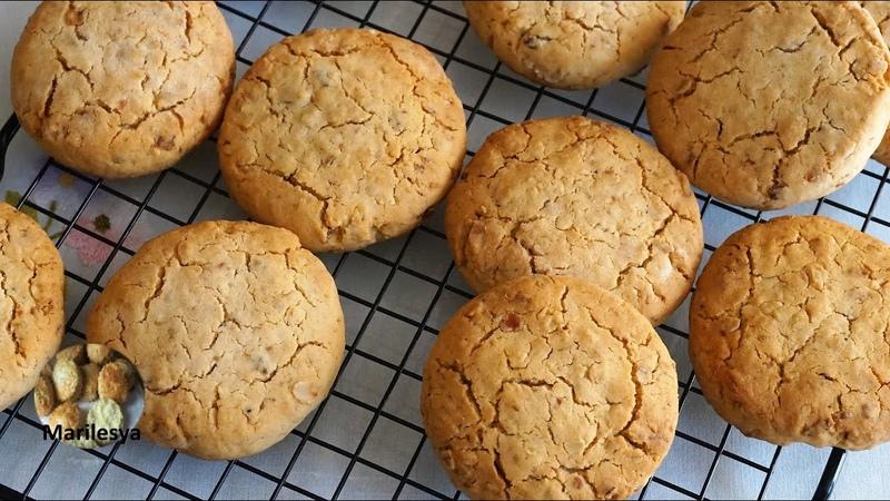 Вкусное медовое ОВСЯНОЕ ПЕЧЕНЬЕ почему овсянка как орехи Honey Oatmeal Cookies