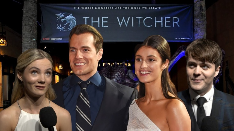 THE WITCHER Staffel 2 kommt INTERVIEW mit Henry Cavill Joey Batey Freya Allan Anya Chalotra