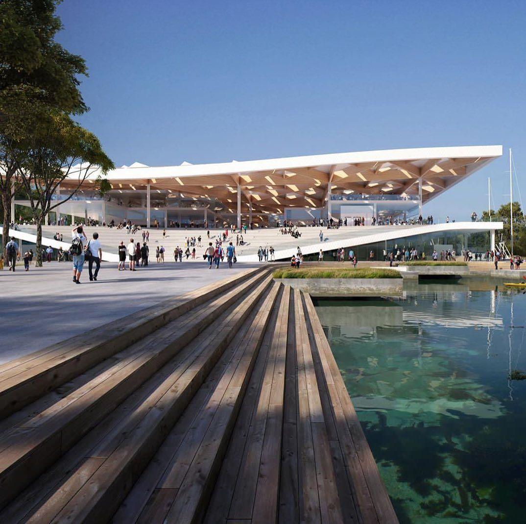 Sydney Fish Market by 3xnarchitects