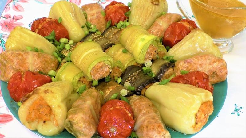Хоть на праздник хоть на каждый день Потрясающе вкусные фаршированные овощи