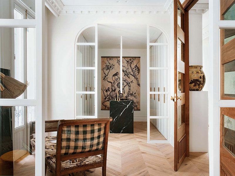 Изысканные апартаменты на месте старого и непримечательного жилья в Мадриде
