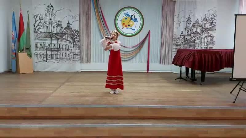 Гайлит Евангелина (Соло. 10-13 лет), руководитель Шевелева Христина Леонидовна