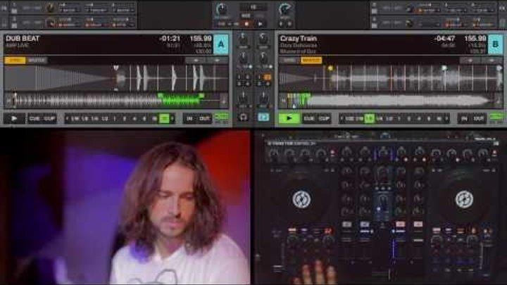 Ozzy DJ Routine on TRAKTOR KONTROL S4 by Ean Golden
