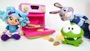 Çocuklar için çizgi film oyuncakları. Omnom kurabiyeleri çalıyor
