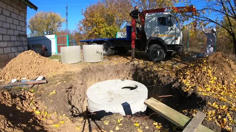 Эта выгребная яма на 8 кубов стоит 46000 рублей