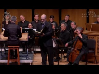 Handel - Esther (HWV 50) (1718) - Ars Lyrica Houston, Bach Society Houston, 2018 [1080p, rus subs]