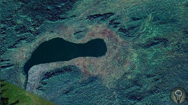 Что находится в глухой тайге Сибири Древнее захоронение или город