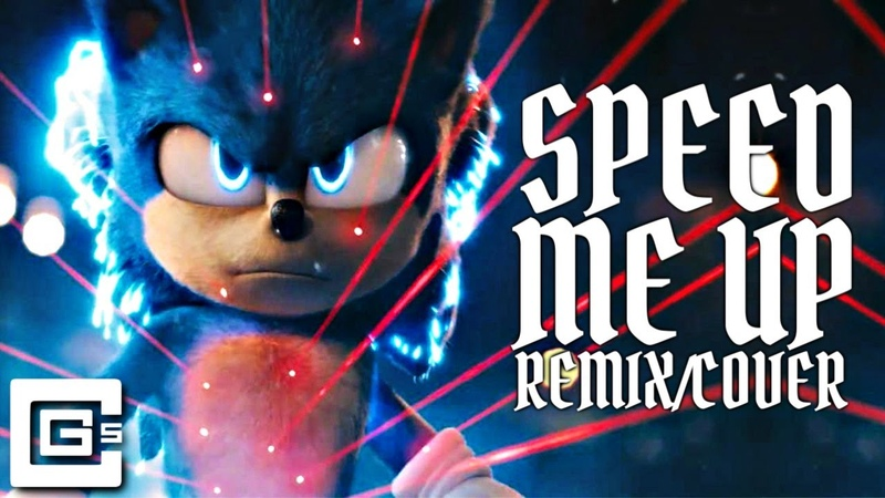Speed Me Up SONIC THE HEDGEHOG Remix Cover feat NerdOut FabvL CG5