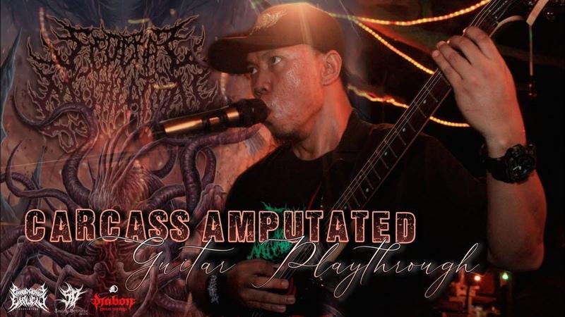 Putra Riezky Sederai Mutilation Carcass Amputated Guitar Playthrough