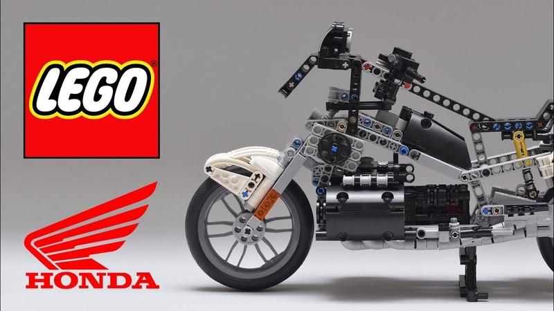 LEGO Technic - HONDA Gold Wing (Steering Front Suspension)