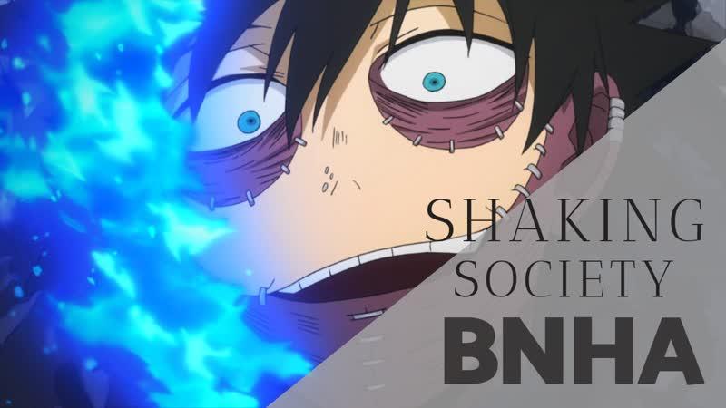【BNHA】shaking society || Dabi (request)