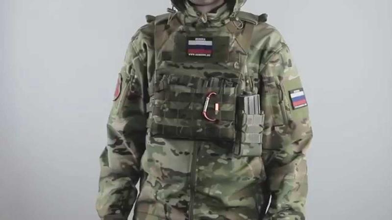ОБЗОР КУРТКА ОПЕРАТИВНИК GSG 4 SOFT SHELL от ТМ GARSING . Red Army Airsoft