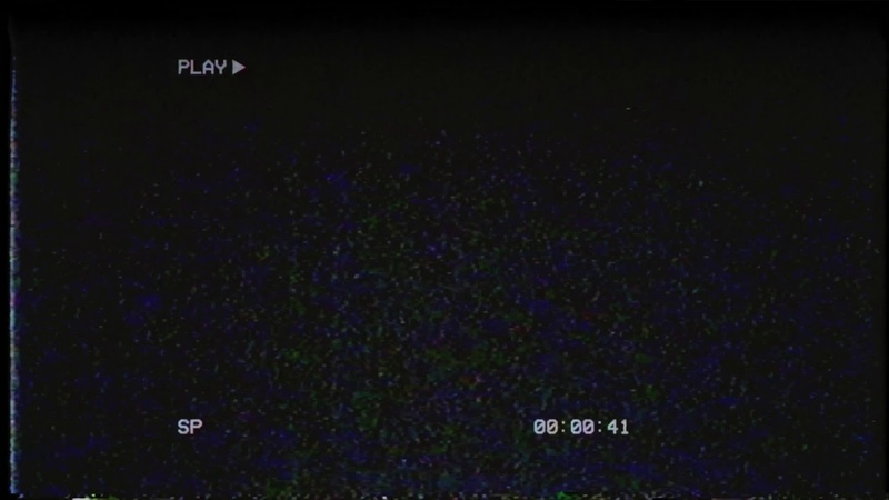 Blank VHS Tape with Play Overlay Footage Free Download